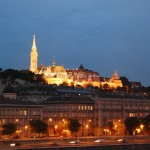Будапеща през нощта