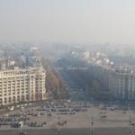 Изглед от двореца в Букурещ